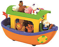 Развивающая игрушка Ноев ковчег укр.яз. Kiddieland (031881), фото 1