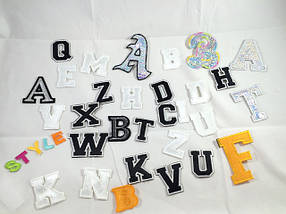 Нашивки буквы