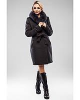 Молодежное кашемировое зимнее пальто