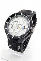 Мужские наручные часы (белый циферблат с белыми метками) , фото 1