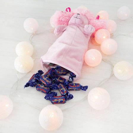 Мягкая игрушка-рукавичка для конфет пудель Фифи, Символ года 2018, фото 2