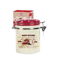 Ёмкость для сыпучих продуктов, 0,75л. 'Happy Kitchen'