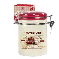 Ёмкость для сыпучих продуктов, 1,2л. 'Happy Kitchen'