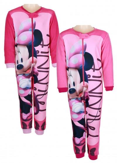 Пижама комбинезон для девочек на флисе 073e829262c0b