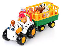 Розвиваюча іграшка Трактор сафарі рос.яз. Kіddіeland (051169), фото 1