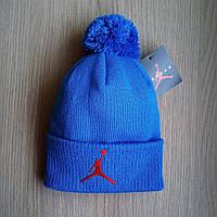 Мужская зимняя шапка NBA нба с бубоном