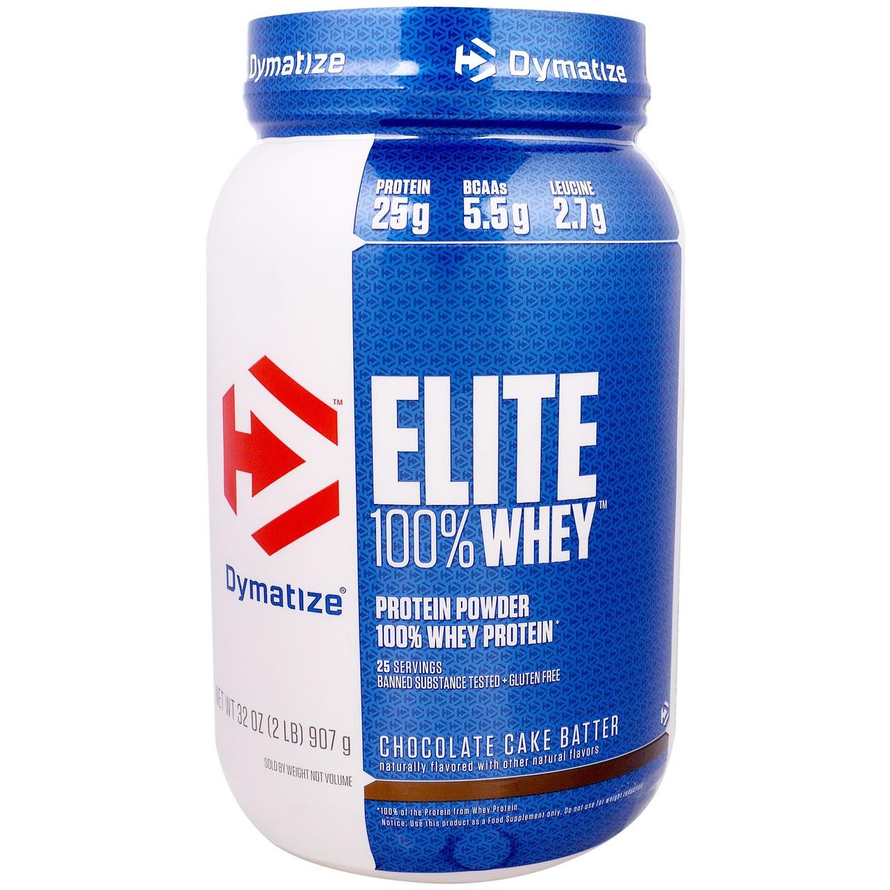 Протеин Dymatize Elite Whey Protein Isolate 907 g