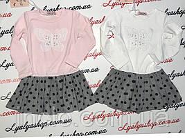 Платье для девочки F&D р.3-8,  детские платья оптом