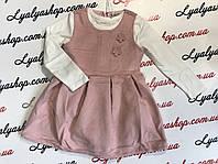 Платье для девочки F&D р.4-12,  детские платья оптом