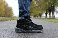 Зимние ботинки Puma Trinomic кроссовки - верх замша,подошва пена ,внутри  мех, размеры:41-45 Вьетнам