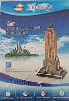 Конструктор 3D из ламинированного пенокартона Великие сооружения Эмпайр Стейт Билдинг 39 деталей