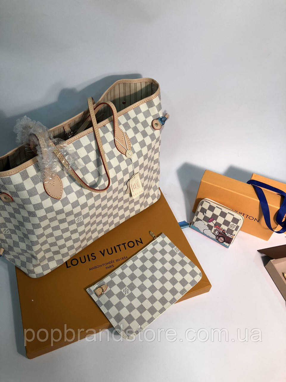 c9ed44c2e445 Популярная женская сумка Louis Vuitton Neverfull (реплика): продажа ...