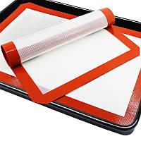 """Силиконовый коврик для выпечки, запекания, силиконовый коврик """"Пекарь"""" 60х40 см кондитерский"""