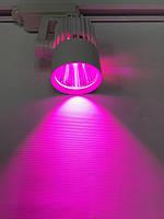 Светодиодный трековый фитосветильник SL-4003F 20W (full spectrum led) белый Код.59088      xx 15914