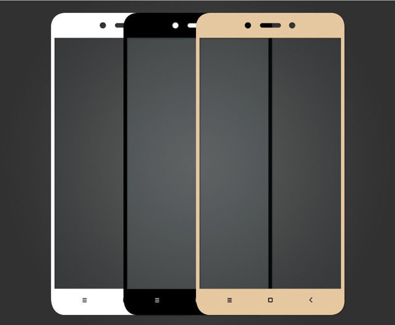 Защитное стекло Full Screen Xiaomi Redmi Note 4 Черное