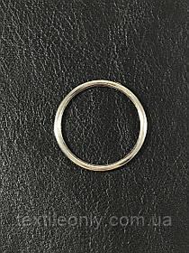 Кольцо бельевое 25 мм цвет никель (серебро)