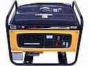 Бензиновый генератор на 3 кВт KAMA KGE4000X, фото 2