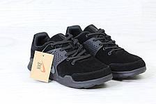 Кроссовки Nike air presto замшевые,черные, фото 3