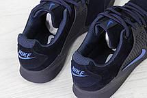 Кроссовки Nike air presto замшевые,темно синие, фото 3