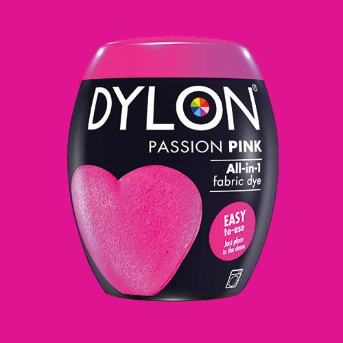Краска для ткани DYLON Passion Pink 29 - для стиральной машины