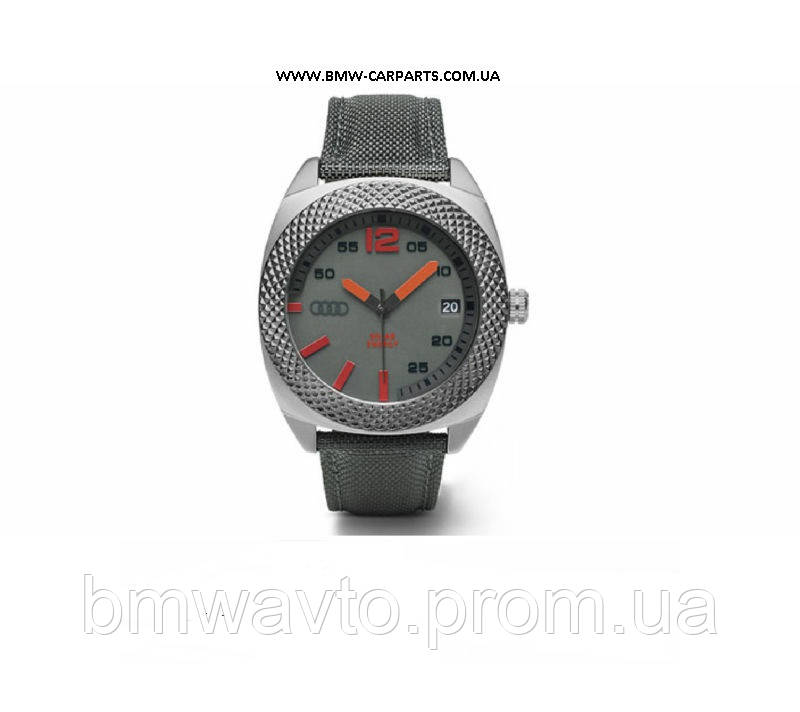 Наручные часы на солнечных батареях Audi Solar Watch Small, Quantum Grey