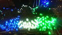 Гирлянда для улицы из диодных ламп LED, 20м, в ассортименте