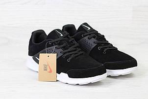 Кроссовки Nike air presto замшевые,черно-белые, фото 2