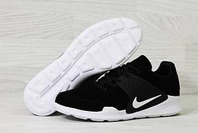 Кроссовки Nike air presto замшевые,черно-белые, фото 3
