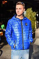 Мужская демисезонная куртка на силиконе