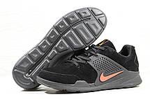 Кроссовки Nike air presto замшевые,черно с оранжевым, фото 3