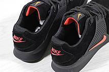 Кроссовки Nike air presto замшевые,черно с оранжевым, фото 2