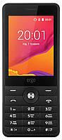 Кнопочный мобильный телефон с большим экраном на 2 сим карты ERGO F281 LINK
