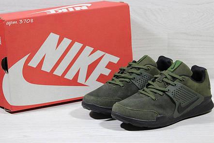 Кроссовки Nike air presto замшевые,зелёные, фото 2