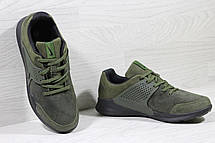 Кроссовки Nike air presto замшевые,зелёные, фото 3
