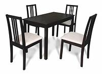 Комплект обеденный Оптим (стол + 4 стула)