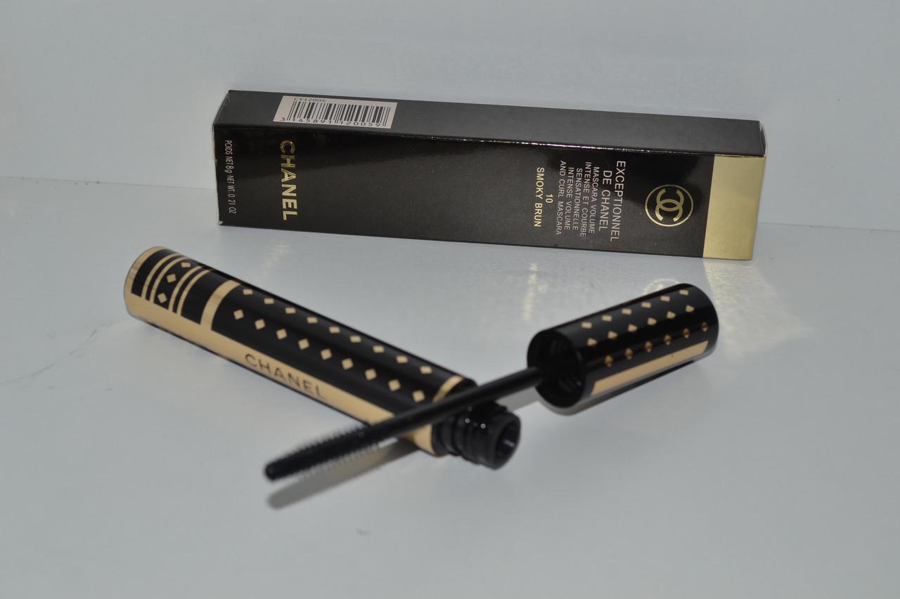 Объемная подкручивающая тушь для ресниц Chanel Exceptionnel de Chanel