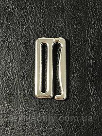 Крючок на бретели 25 мм никель (серебро)