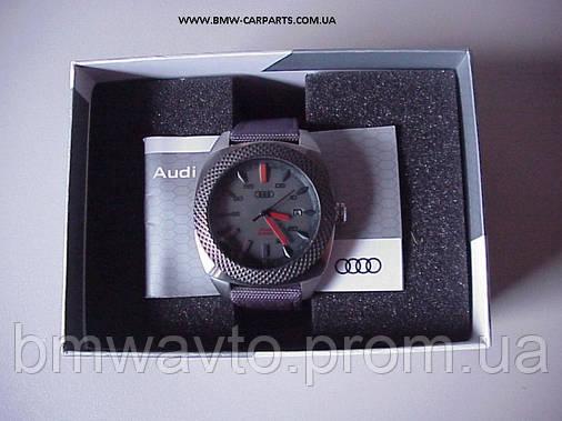 Наручные часы на солнечных батареях Audi Solar Watch Big, Quantum Grey, фото 2