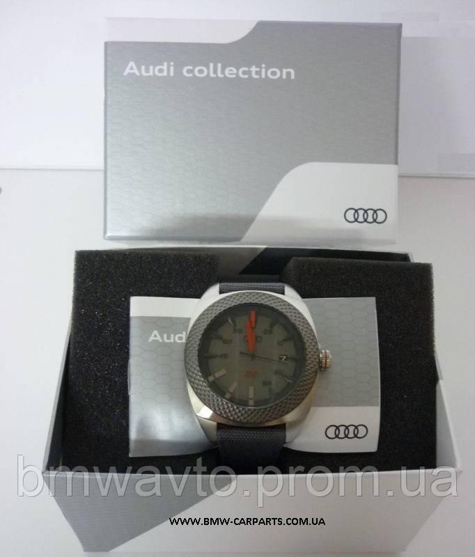 Наручные часы на солнечных батареях Audi Solar Watch Big, Quantum Grey
