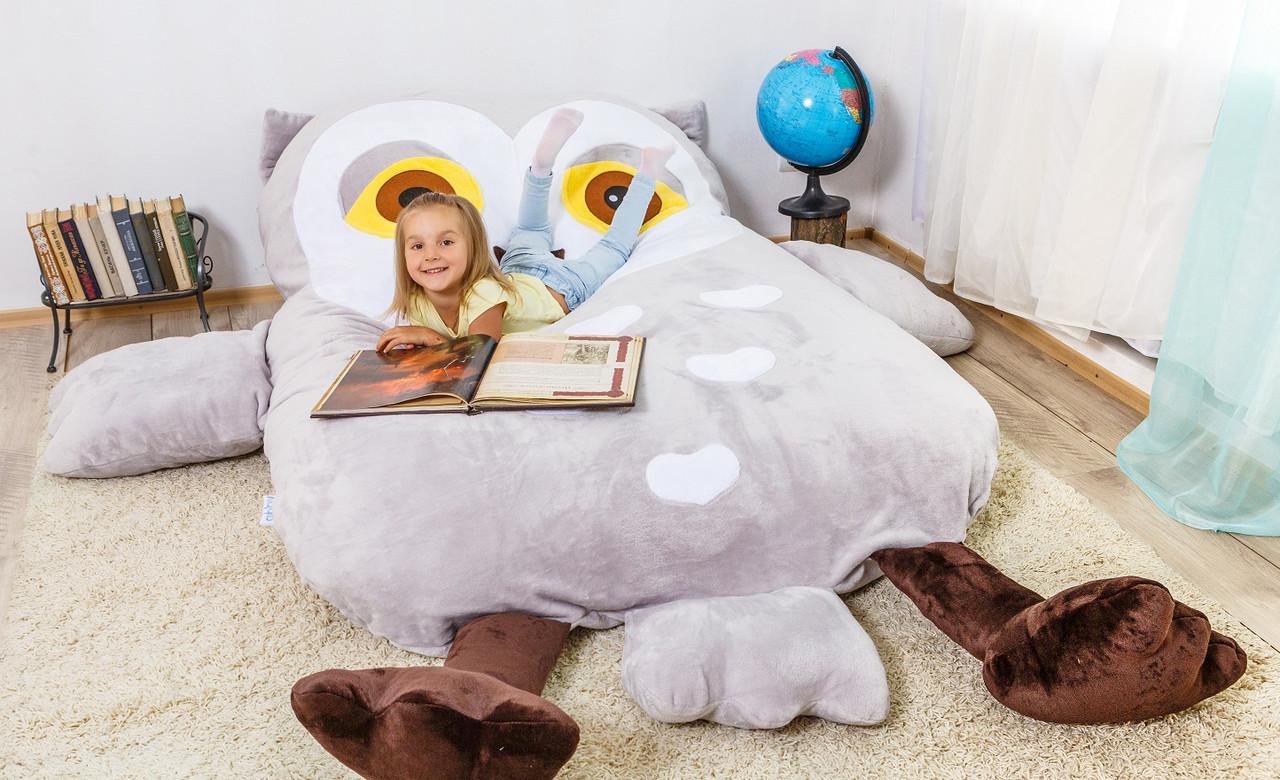 Детская мягкая кровать Совушка