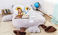 Детская мягкая кровать Совушка, фото 1