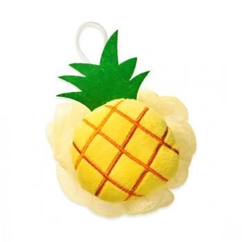 Etude House Tropical Pineapple Shower Ball Мочалка для душа