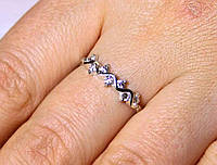 Кольцо серебро 925 проба 16.5 размер АРТ19, фото 1