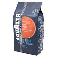 Кофе зерновой Lavazza Super Crema 1 кг.