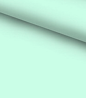 Хлопковая ткань однотонная светло-мятная