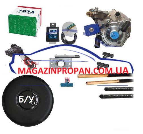 YOTA ГБО 2 поколения на Passat инжектор с Б/У баллоном, фото 2