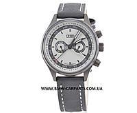 Наручные часы унисекс Audi Watch with calendar week, grey/black