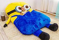 Детская мягкая кровать Миньон