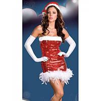 Новогоднее мерцающее платье для вечеринки