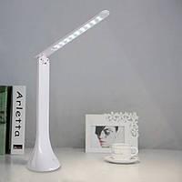 Сенсорная настольная складная аккумуляторная лампа из светодиодов Led Touch Lamp, фото 1